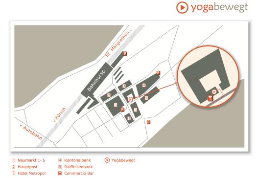 Lageplan yogabewegt